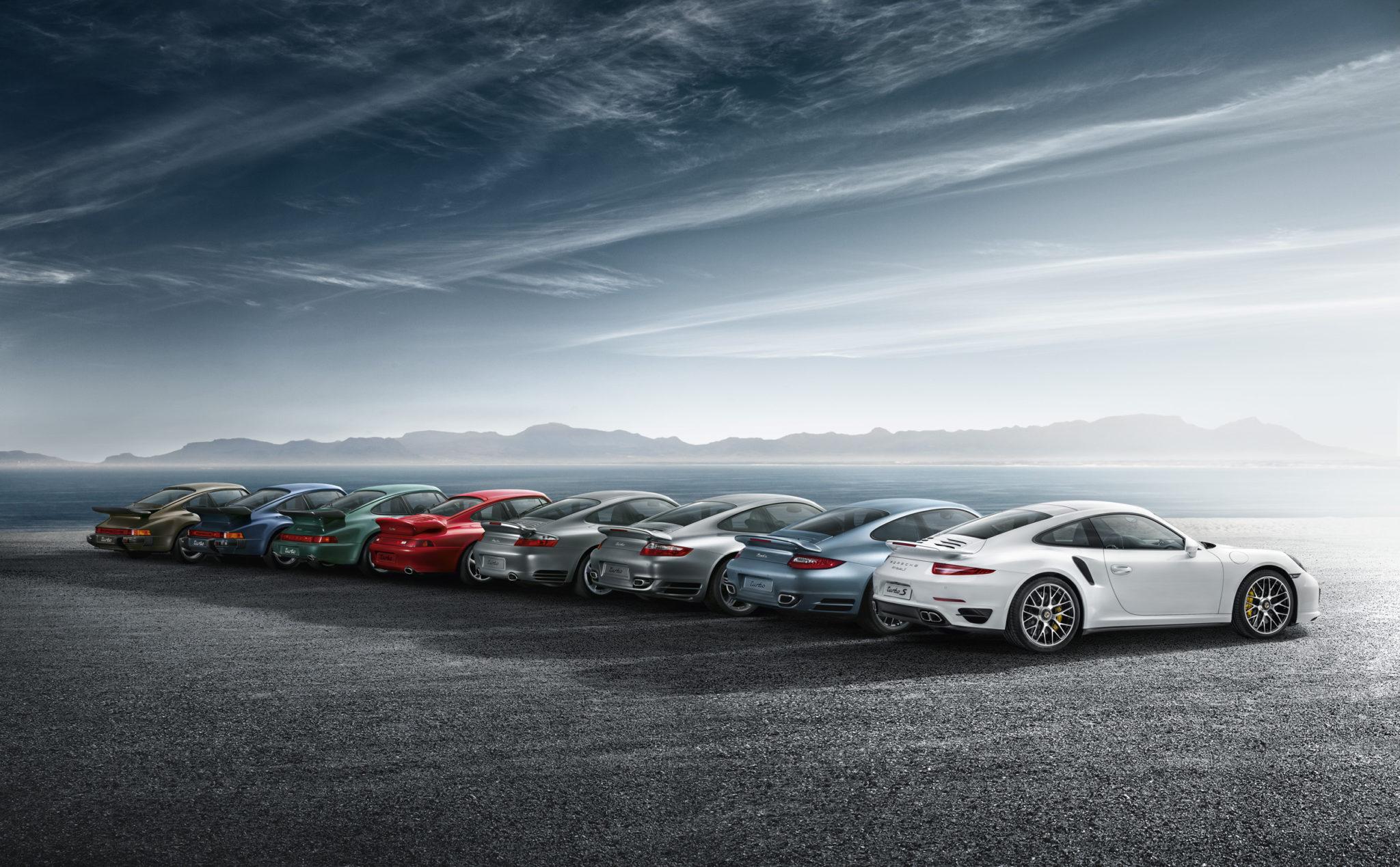 Porsche 911 alle generaties